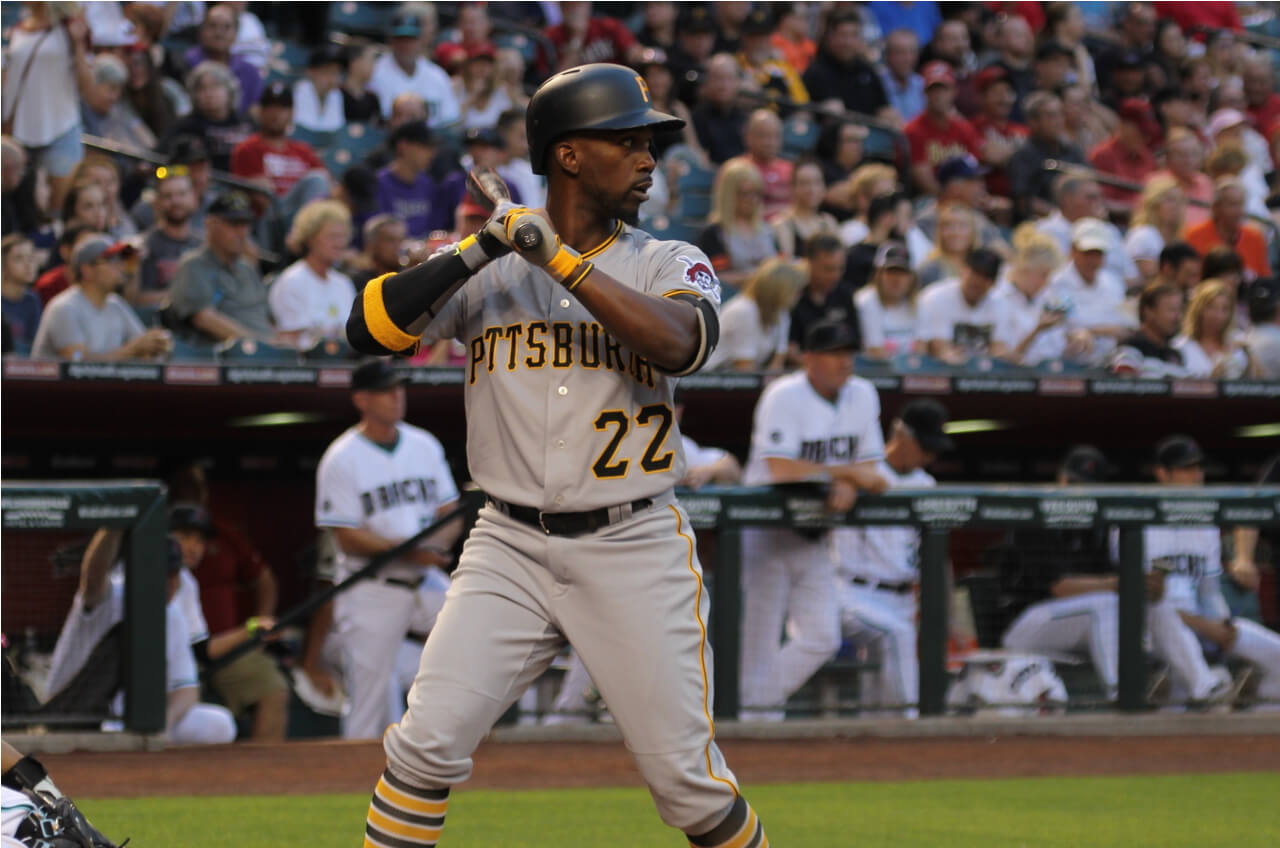 Andrew McCutchen at bat for Pirates