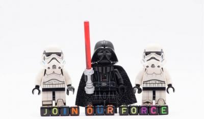 Star Wars Legos and blocks