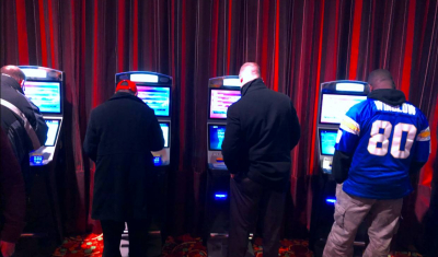Parx Sportsbook kiosks