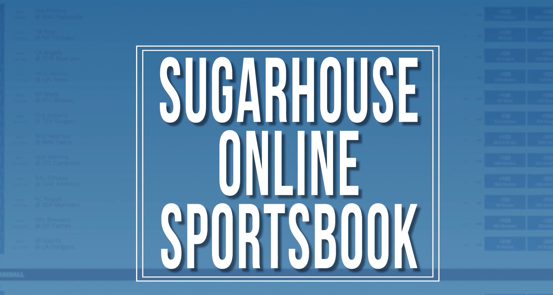 Sugarhouse Sportsbook App