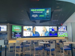 FanDuel sportsbook at Valley Forge