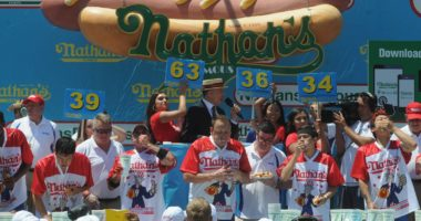 Hot dog eating competition comes with dfs contest in PA