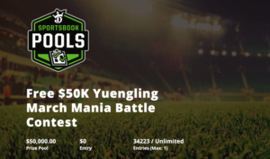 draftkings march mania bracket contest